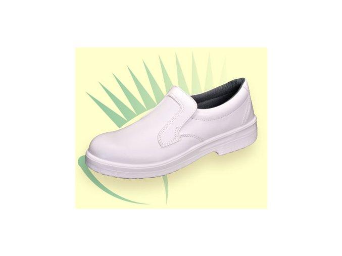p301:pracovní mokasina z mikrovlákna,lehká pracovní obuv pro zdravotnictví,potravinářství