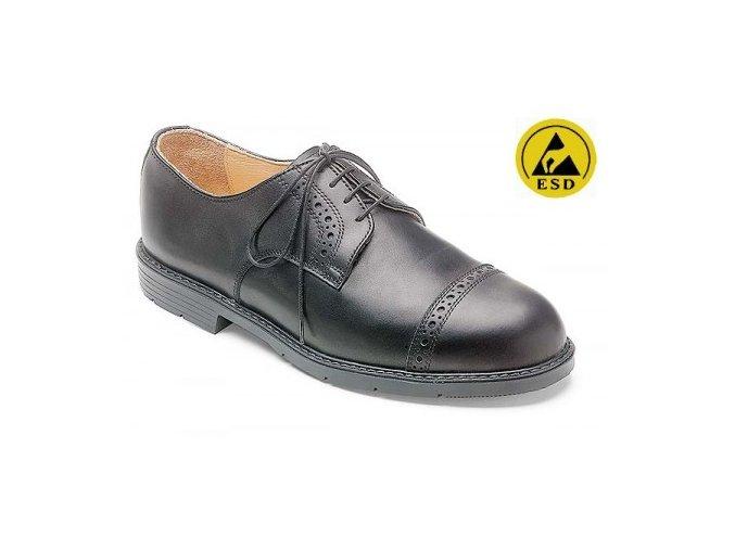 Stuco 64.610 -manažerská pracovní polobotka, ESD bezpečnostní manažerská obuv
