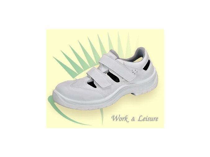 Safeway L717 S1 dámský/pánský sandál s plastovou tužinkou,antistatická pratelná non metallic,pružná měkká podešev