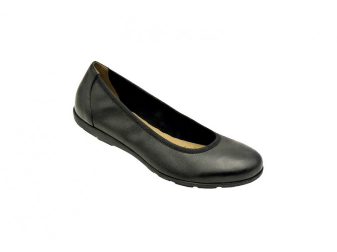 SERVICE Ballerina neu -obuv z měké přírodní usně,tzv.balerina.Dámská protiskluzová obuv pro gastronomii