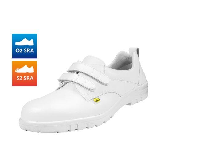 bezpečnostní polobotka S2,antistaická ESD polobotka vel.49-53,komfortní ESD bota do zdravotnictví,potravinářství,elektrotechniky