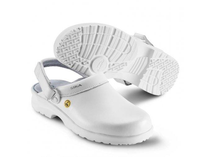 19467 Fusion clog: antistatický ESD sandál,komfortní obuv pro farmacii,potravinářství,zdravotnictví