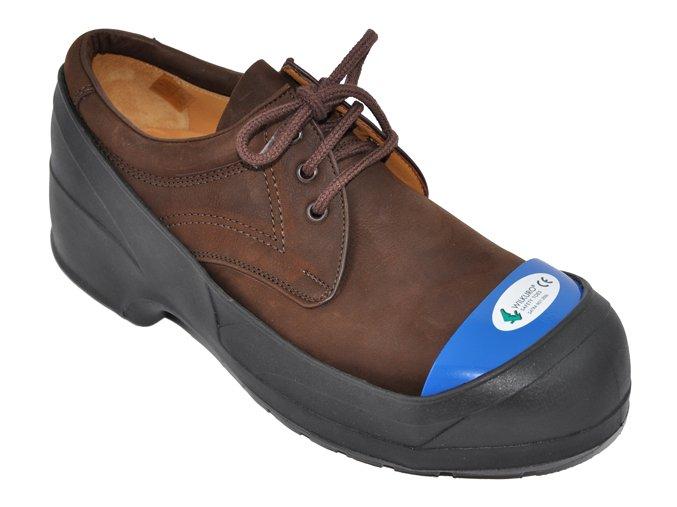 galoše s ocelovou špicí: bezpečnostní návlek na obuv, návlek na boty pro návštěvy
