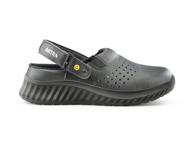 ART 702 Air 6660 SB A E FO ESD:pracovní sandál bez vyztužené špičky,protiskluzný ESD sandál pro elektrotechniku,elektroniku atd.
