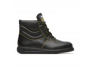 Durazis HRO:bota pro asfaltéry. Odolnost podešve 300C,tepelná izolace,kotníková bota pro silničáře,pro asfaltéry
