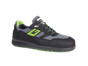 PORTLANDS1P :protiskluzová pracovní bota.Antistatická obuv pro sklady,lehký průmysl apod.)