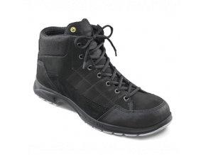 g30.360 :profesní kotníková obuv bez vyztužené špice.ESD kotníková bota ,protiskluzová podešev