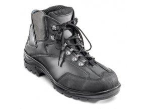 g30.975 O3:kotníková pracovní bota bez vyztužené špice. Protiskluzová pryžová podešev