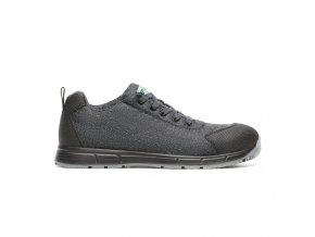 Carbon S1P:antistatická polobotka s plastovou špicí,bota bez kovu,protiskluzová lehká obuv