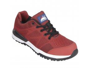 Bounce S1P-pracovní polobotka,textilní pracovní bota bez kovu,antistatická lehká polobotka