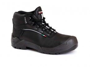 KOLNS3CIWR :kotníková bota bez kovu,obuv s plastovou špicí,podšívka s membránou Wind-tex.Podešev PU/PU