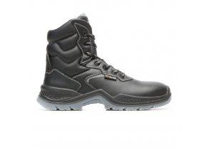Phoenix S3 CI:zimní pracovní obuv s plastovou špicí.Lehká zimní bota,syntetická kožešina,protiskluzová zimní bota