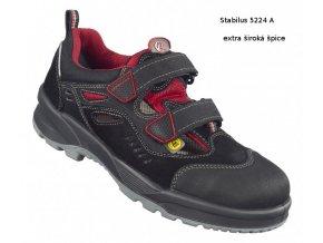 5224 A:bezpečnostní bota s extra širokou ocelovou špicí