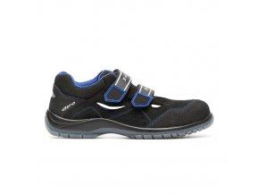 Arizona S1:lehký pracovní sandál s plastovou špicí. Vhodný pro lehký průmysl,sklady apod.