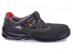 Giasco PERU S1P SRC ESD dámský,pánský pracovní sandál bez kovu ,protizkluzná a pružná pracovní obuv,pracovní sandál pro elektrotechniku,elektroniku,výbušné prostředí,pracovní non metallic sandál