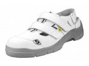 Schuerr HOF SB SRA ESD pánský/dámský sandál ,široká Alu špička,gel v patě ,tlumení nárazů,elektrotechnika,elektronika,zdravotnictví