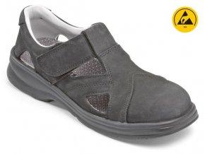 Stuco 24.404 S1 SRC ESD dámský sandál ocelová špička ,protiskluzná antistatická bota,lehké provozy,gastro,sklady,elektrotechnika