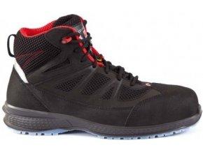 Giasco Karate S3 kotníková bota s plastovou špičkou a stélkou proti propichu ESD ,non- metallic, metal-free