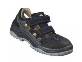 Stabilus 3113 A S1 pánský sandál , Alu špička,Bioair ventilace vzduchu,zdravotní bota elektrtechnika,sklady,lehký průmysl automotiv