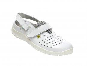 Schuerr 5.1271.01.51 OB ESD bílý zdravotní sandál pro lékaře,zdravotní sestry,farmacie,laboratoře