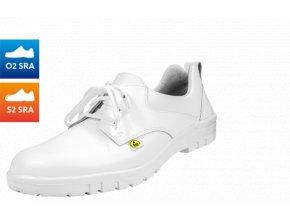 Schuerr9.0372.01.38 pánská polobotka vnadměrných velikostech 49-53,antistatická bezpečnostní bota s ocelovou špicí,potravinářství zdravotnictví