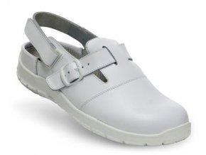 Art.Roding-pracovní antistatický sandál,ESD pracovní bílá obuv,do farmacie,pro lékaře,lékárníky  sandál