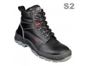Stabilus 2517S2 pánská kotníková bota, ocelová špice,hrubý dezén podešv,průmysl,stavebnictví,zemědělství,celoroční