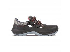 Ponza S1P- pracovní sandál bez kovu,non metallic obuv, odvětraná obuv pro lehký průmysl,sklady,montáže