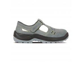 Bracciano standartní pracovní sandál s ocelovou špičkou,pro lehký průmysl,sklady