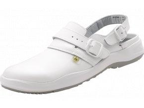 bezpečnostní sandál ,antistaická ESD obuv v nadměrných velikostech