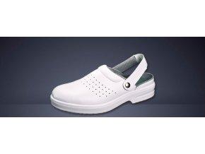 A101 OB E A-pracovní sandál z mikrovlákna,lehká,protiskluzová obuv