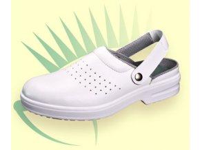 A111 SB: sandál s ocelovou špičkou,lehká obuv z mikrovlákna,protiskluzová ,antistatickáobuv