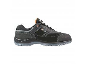 Alabama S3:pracovní protiskluzová polobotka,bezpečnostní obuv bez kovu,lehká obuv pro průmysl,sklady apod.