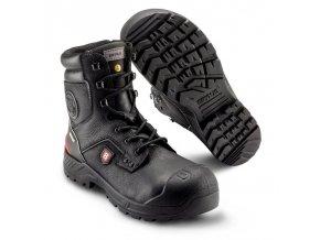 413 Supporter: bezpečnostní obuv do těžkých podmínek, bota do horkých provozů,ale i jako zimní obuv do náročných venkovních podmínek, ESD provedení