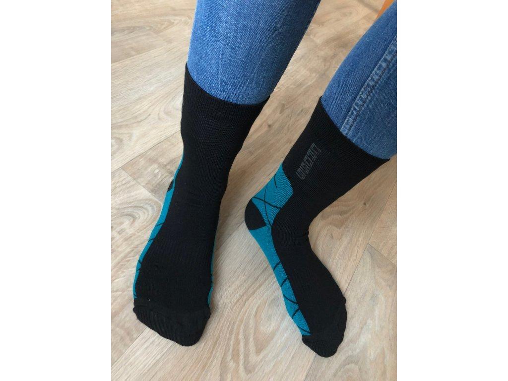 Ponožky polofroté CROSS