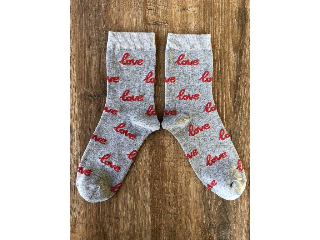 Ponožky Love