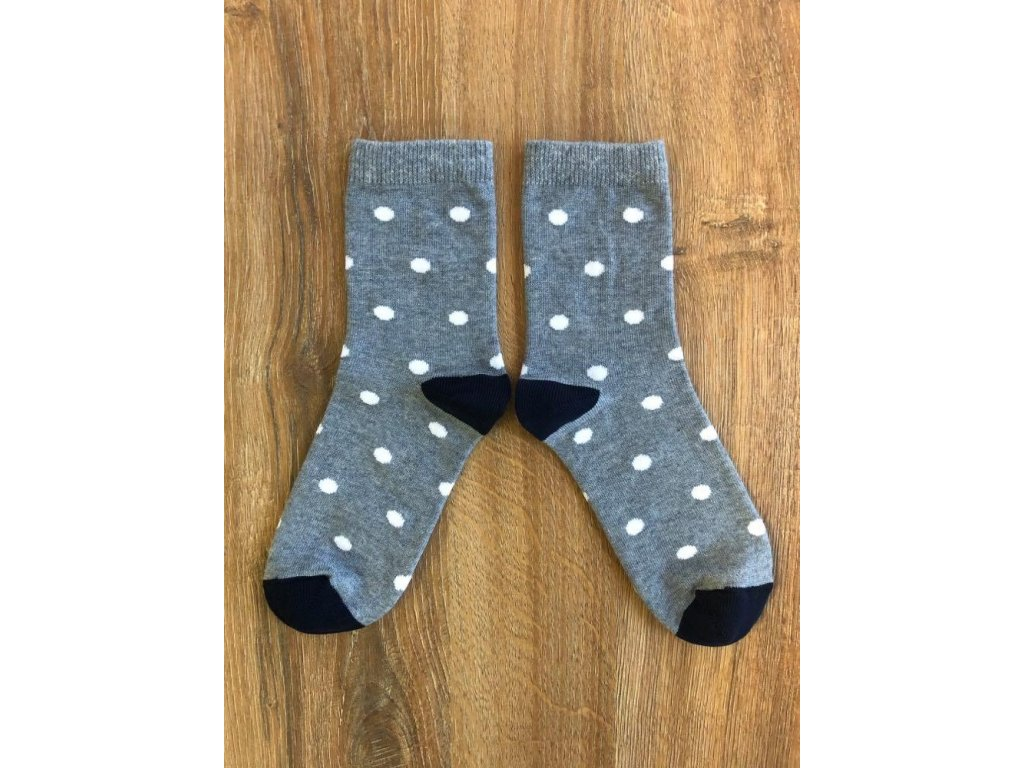 Ponožky puntík antibakteriální