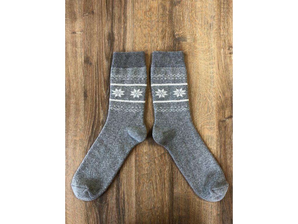 Ponožky zimní Norsko