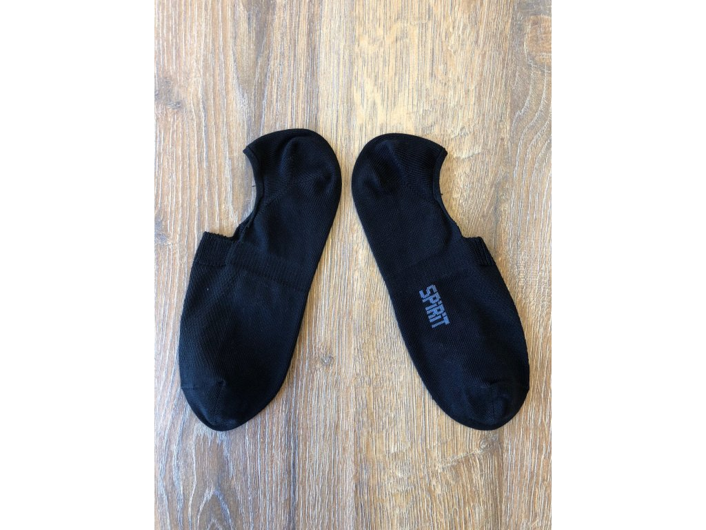 Ponožky footies černé