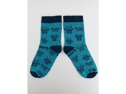 Ponožky roboti