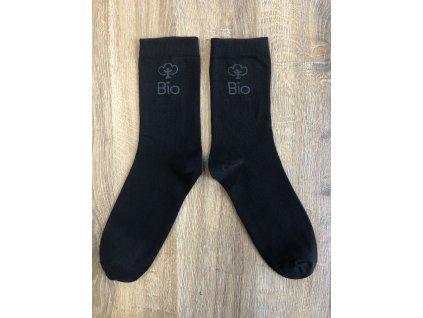 Ponožky BIO Bavlna černá
