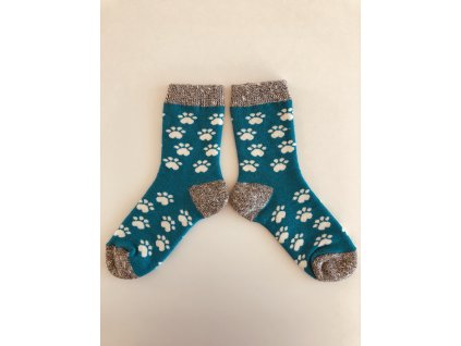 Ponožky zimní tlapky