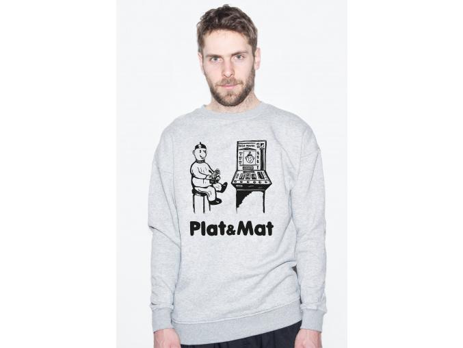 PLAT MAT GREY SWEAT