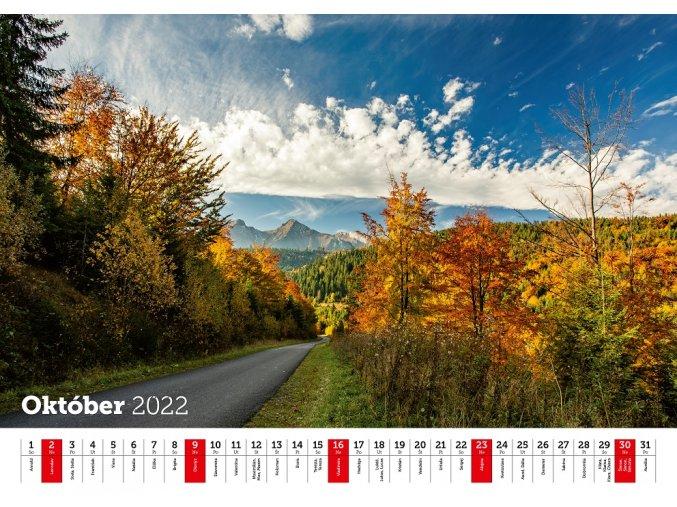 Kalendar 2021 Belianske tatry mesiace republic 14