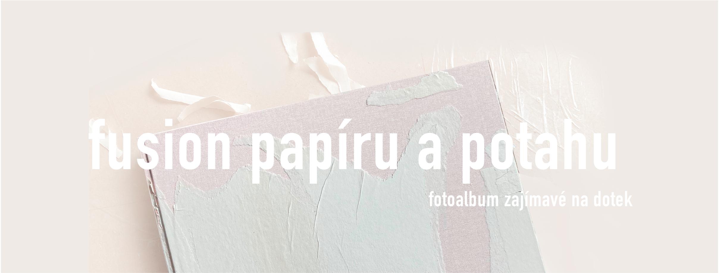 fotoalbum se strukturou papíru