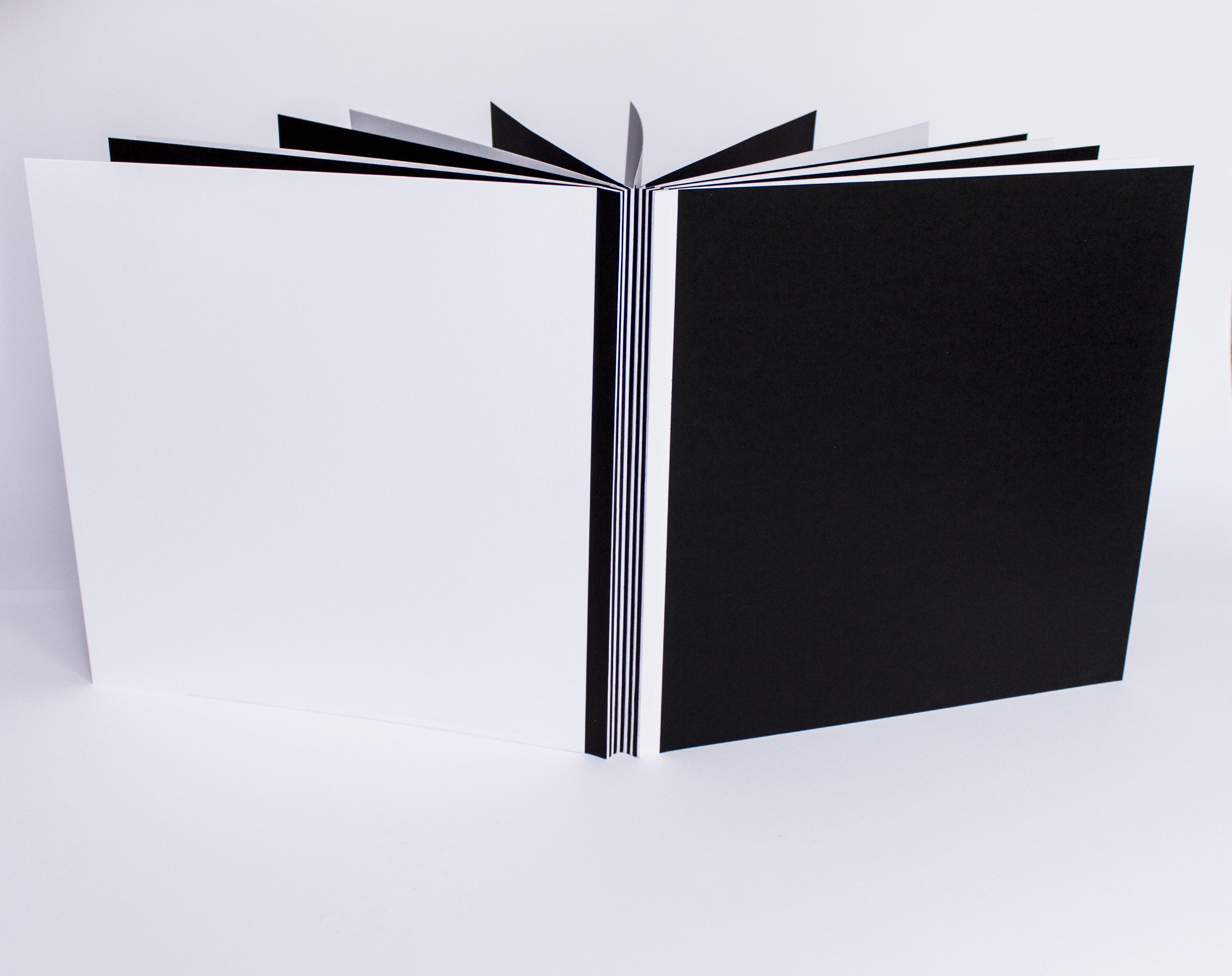 černobílé fotoalbum