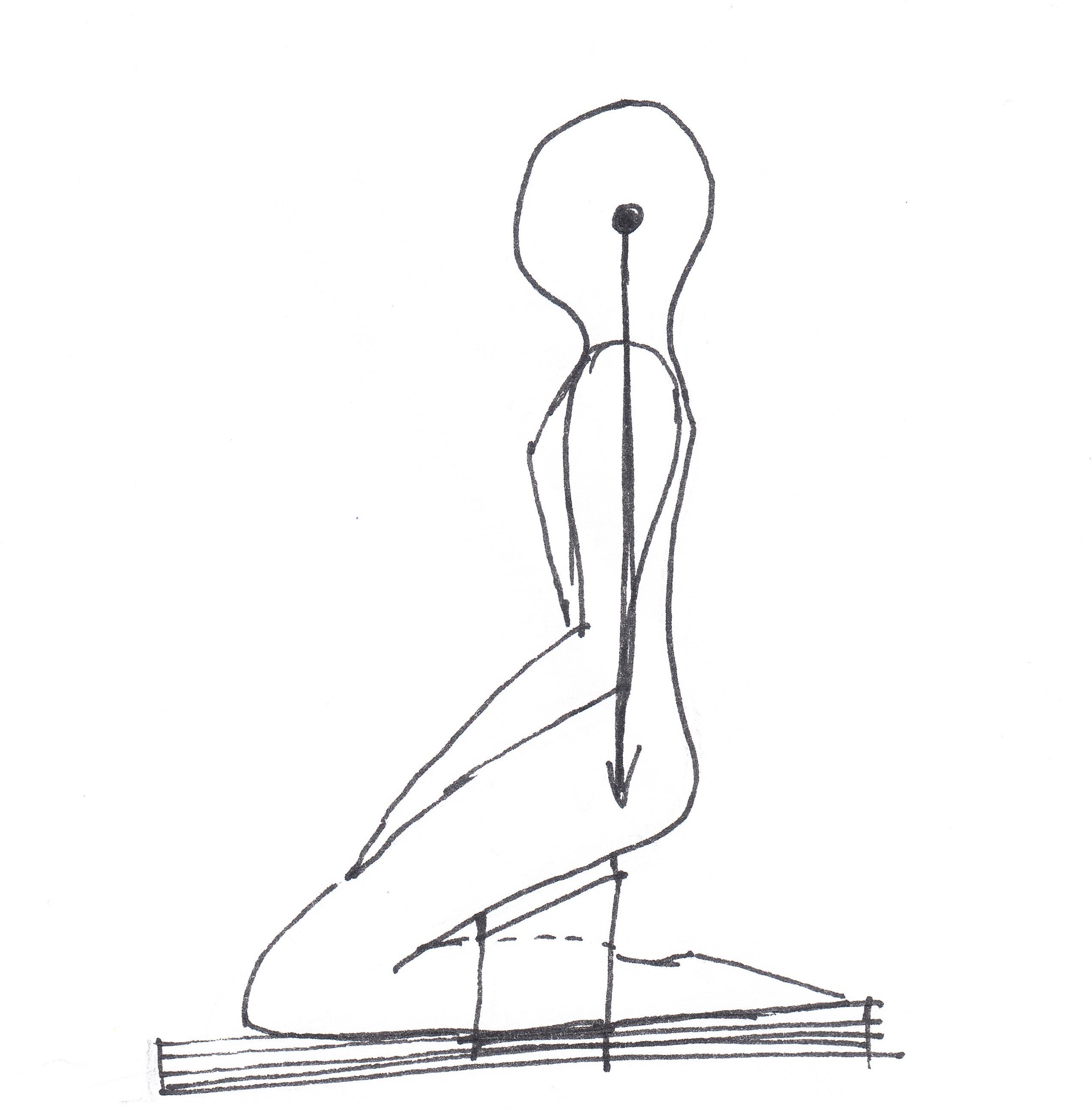 Klekátko a sedátko na meditaci. Umění žít a sedět