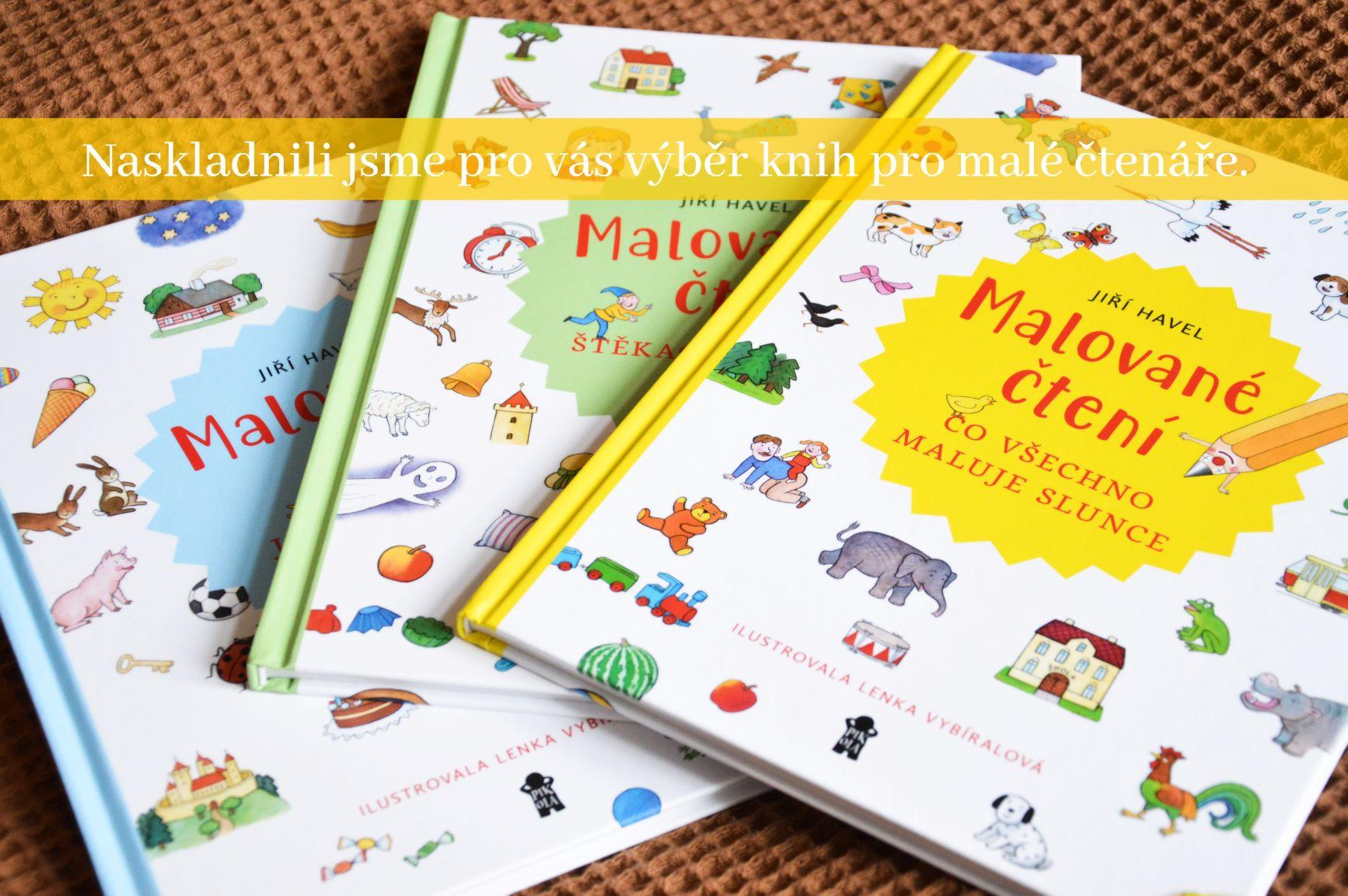 Knihy pro malé čtenáře
