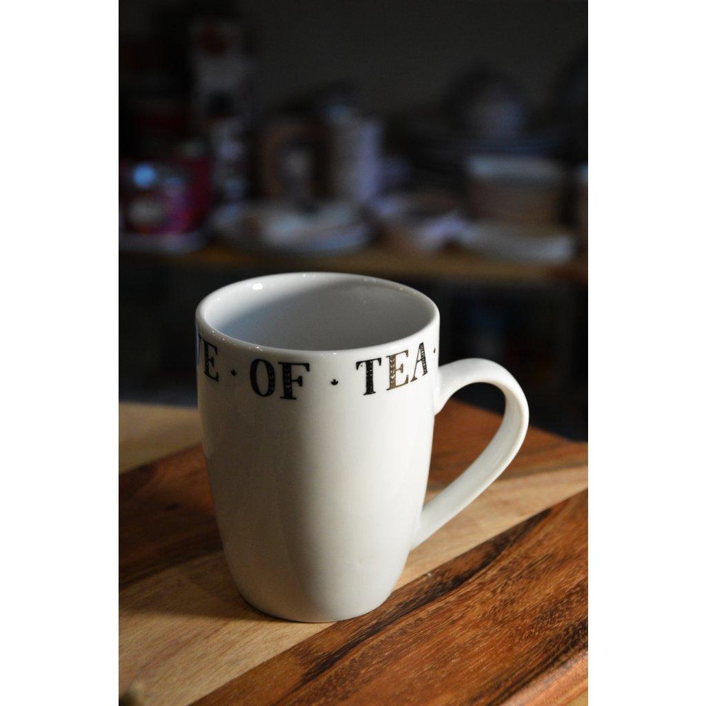 Porcelánový hrnek Tea - Čaj