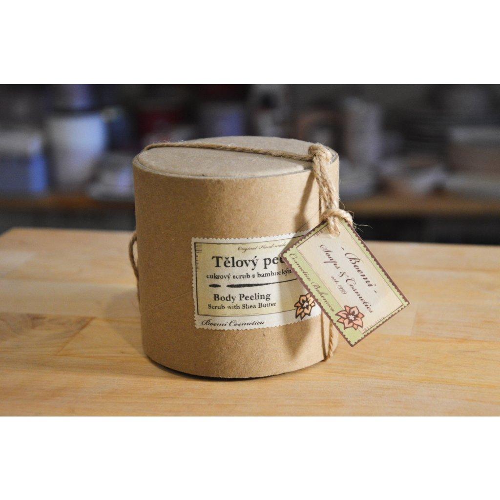 Tělový peeling s bambuckým máslem